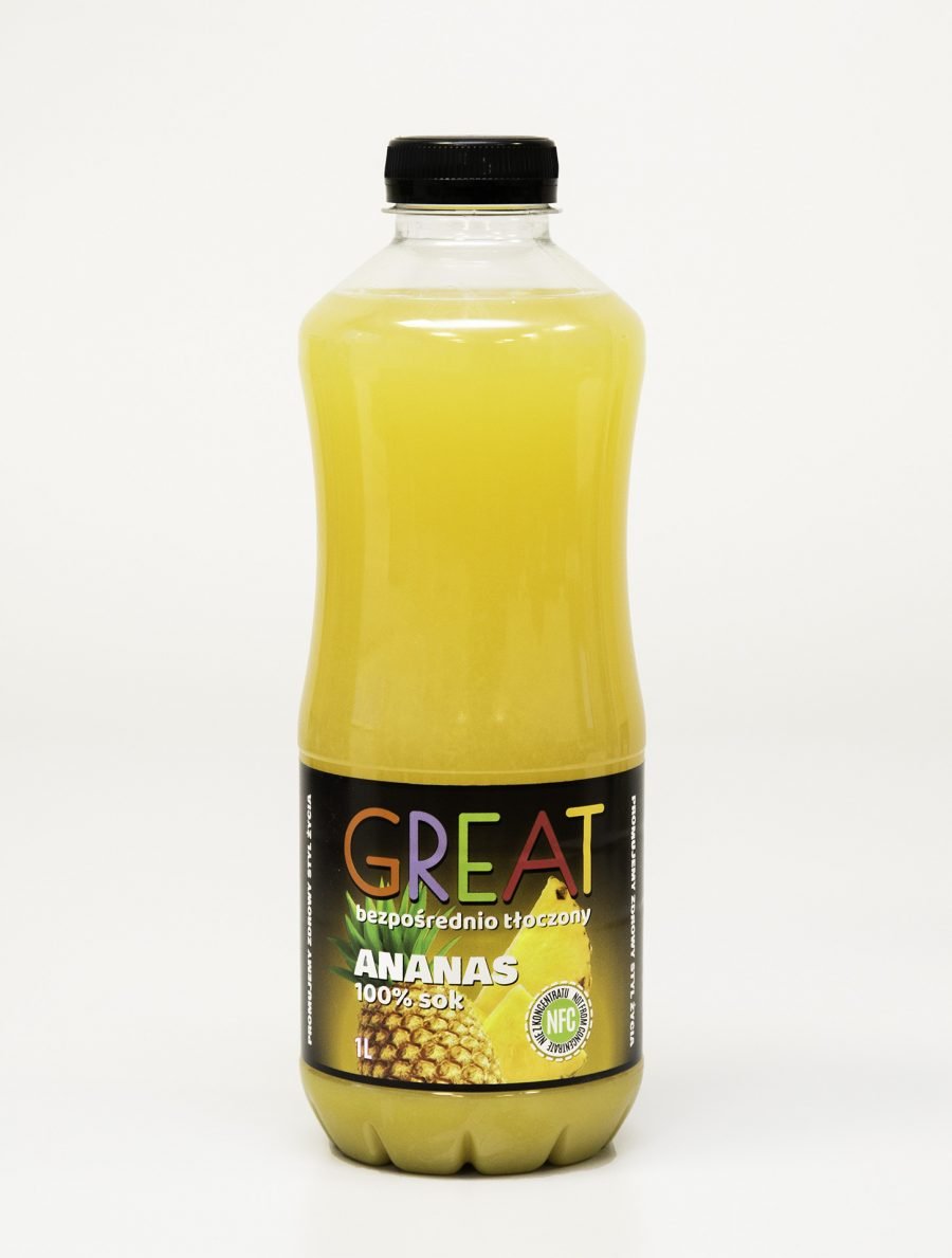 Great Sok Ananas 100% NFC 1L