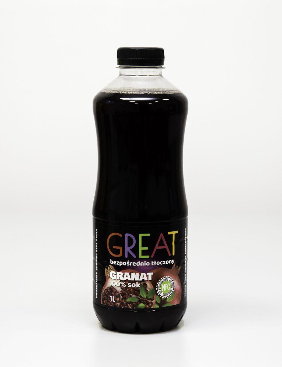 Great Sok Granat 100% NFC 1L
