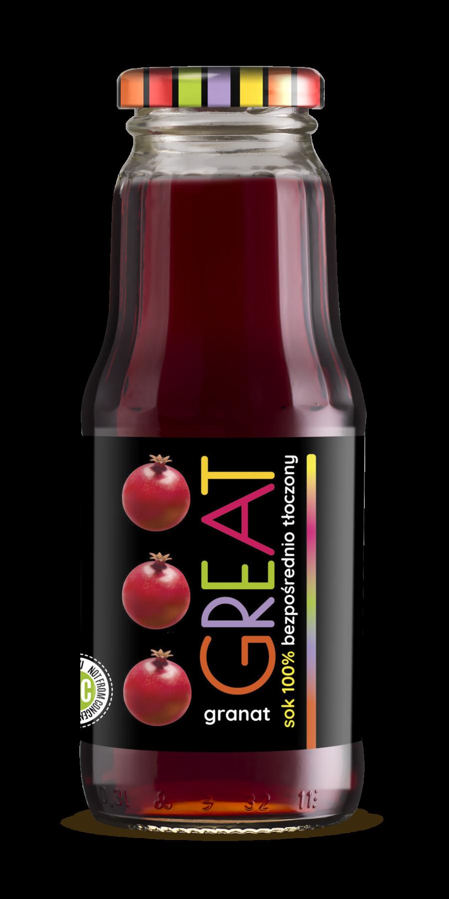 sok z owoców granatu fitnapoje
