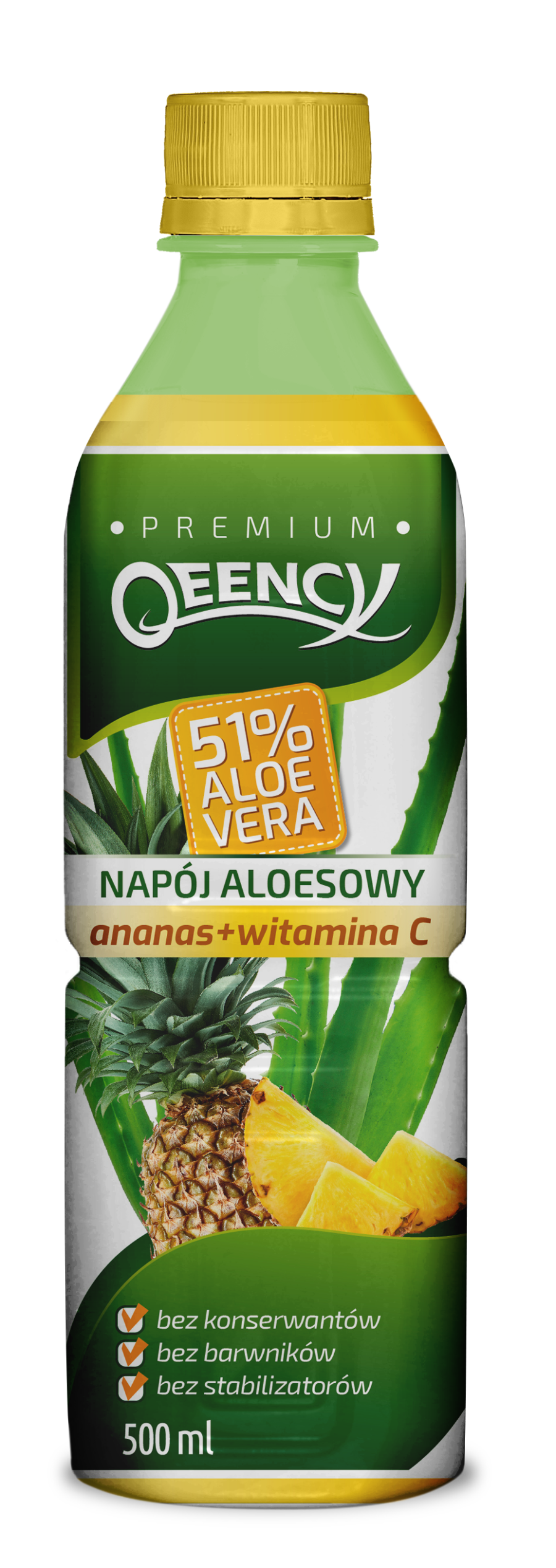 qeency - aloes z ananasem 51%