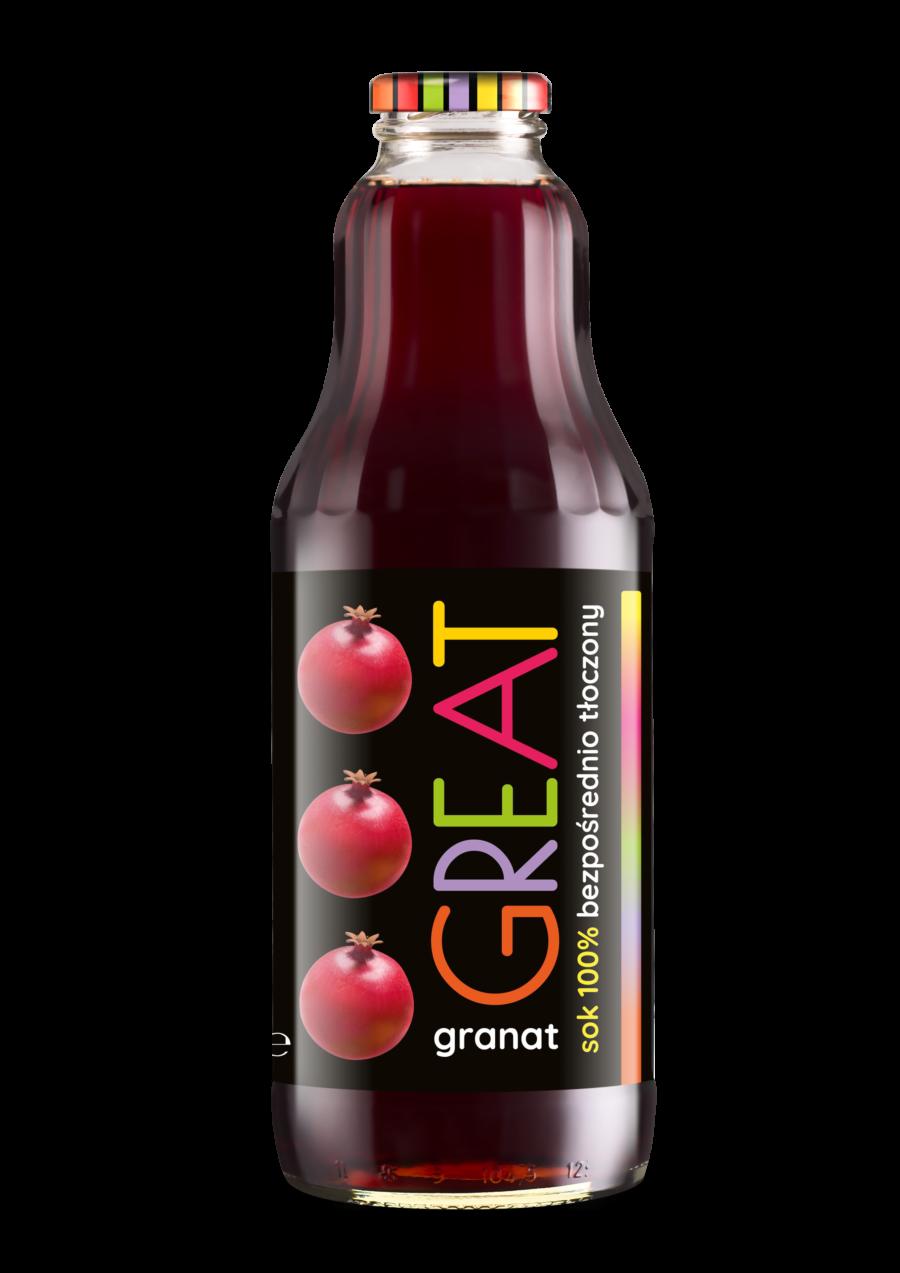 sok z owoców granatu zdrowy fitnapoje