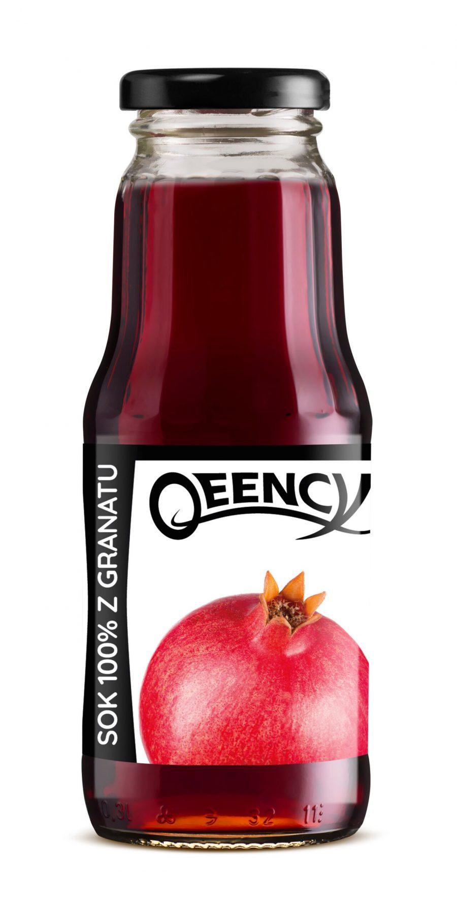naturalny sok z granatów qeency