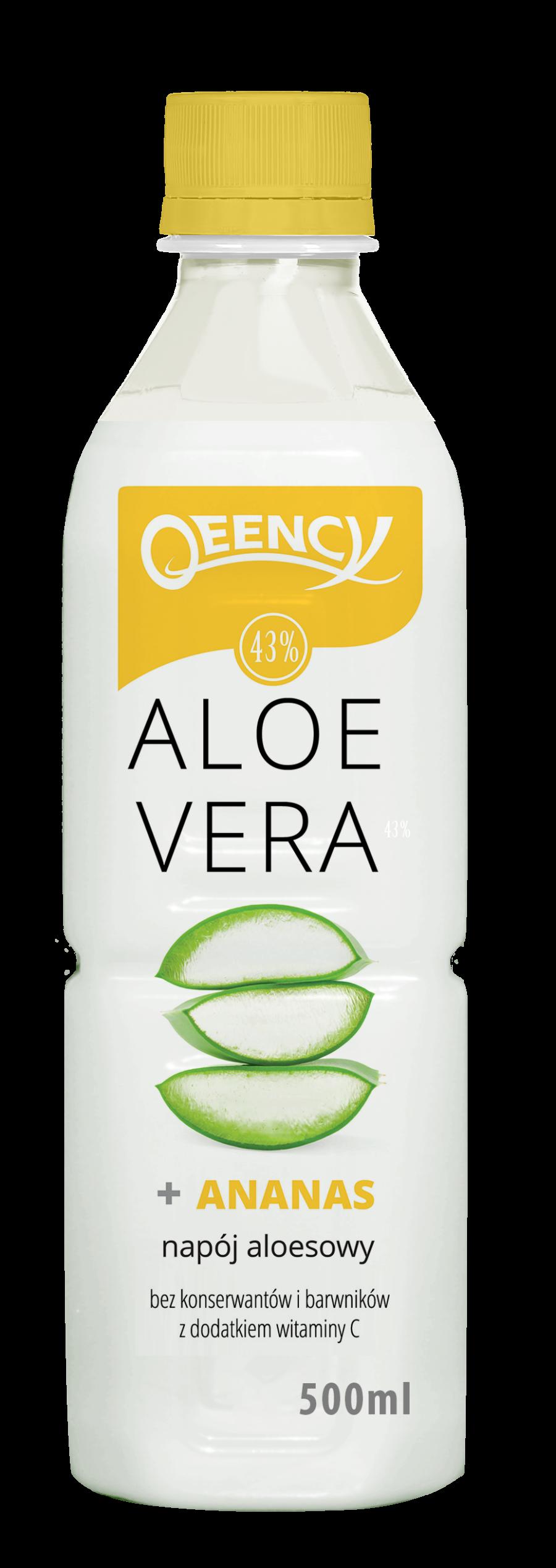 qeency napoj aloesowy ananas