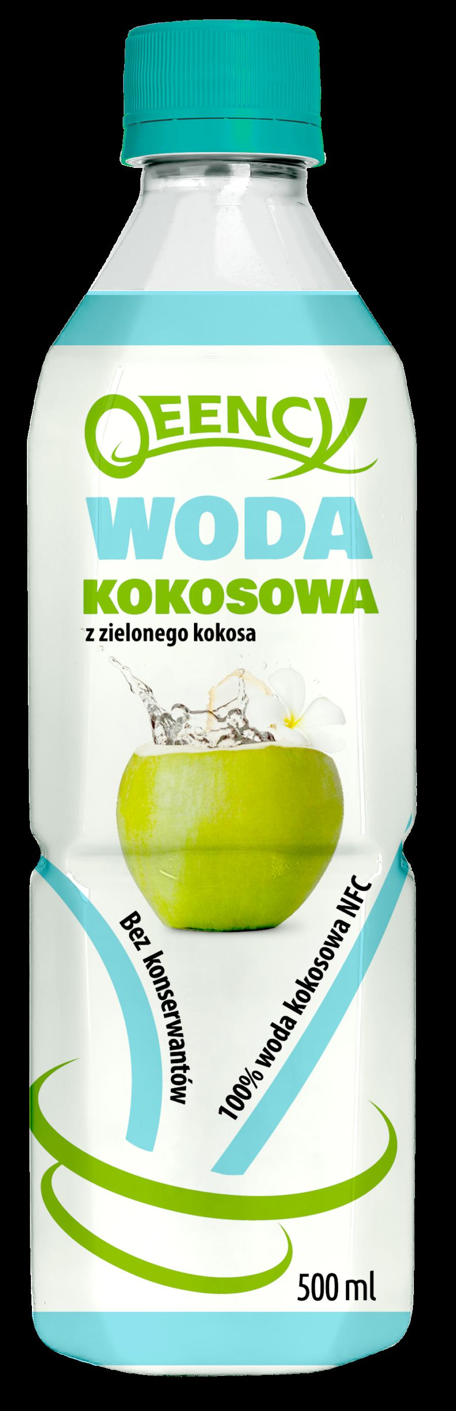 woda kokosowa Qeency