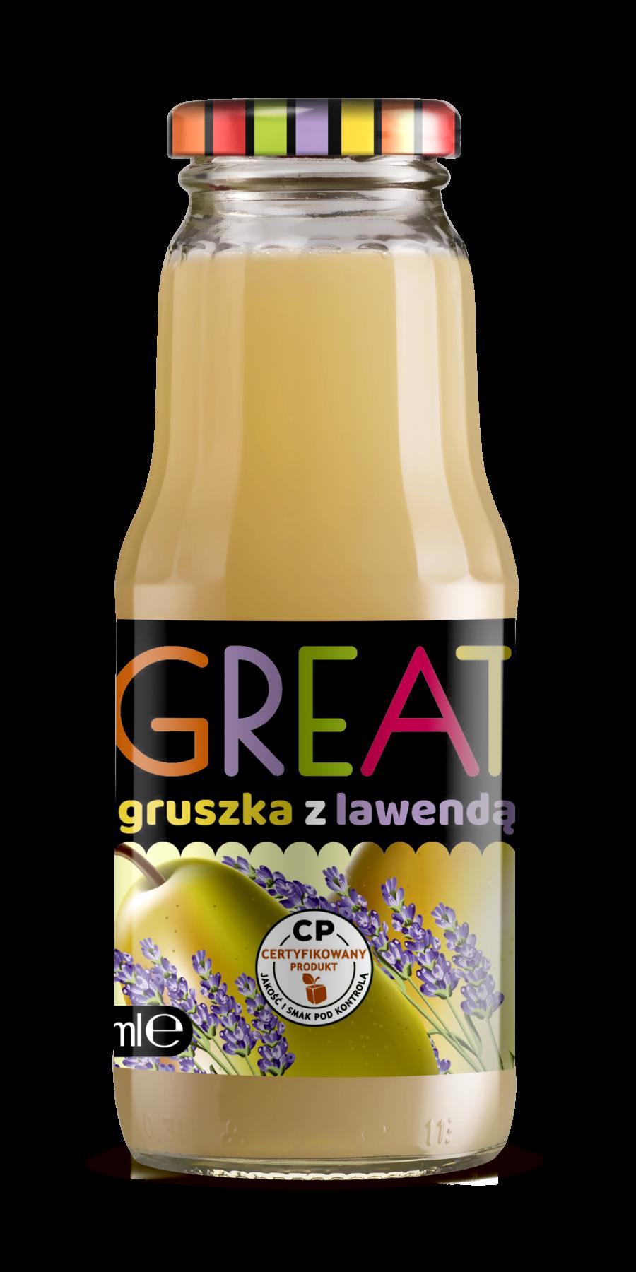 ziołowe gruszka lawenda