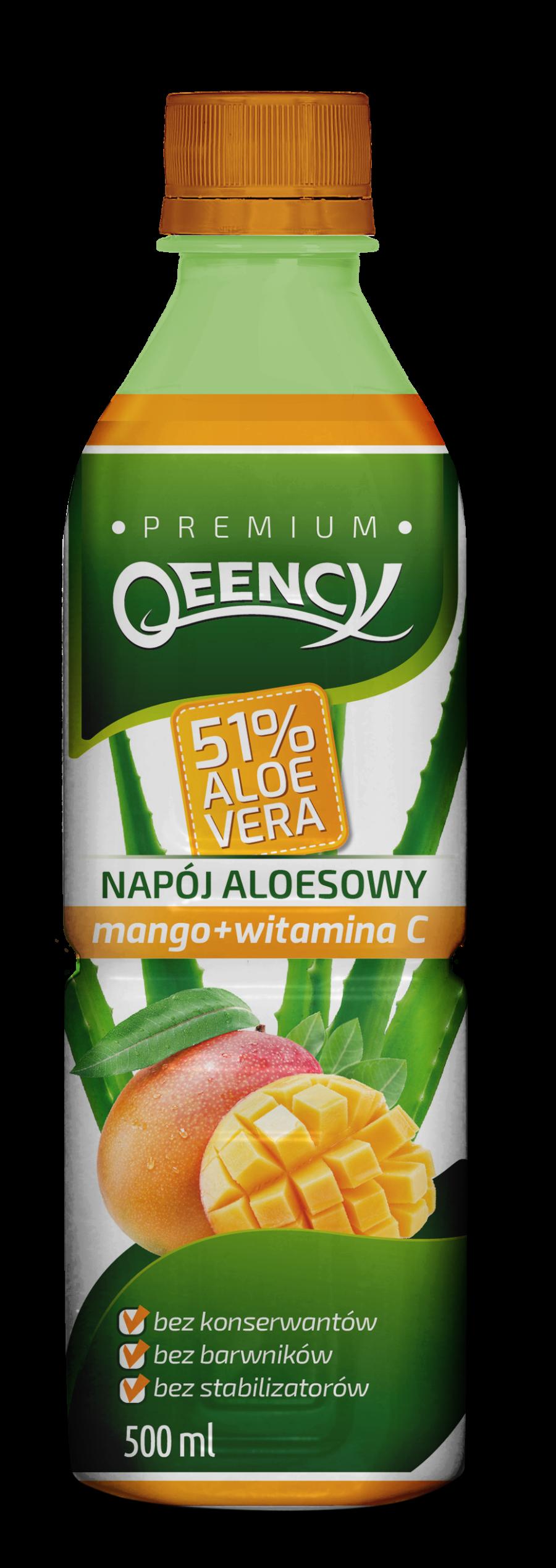 napoj aloesowy mango qeency