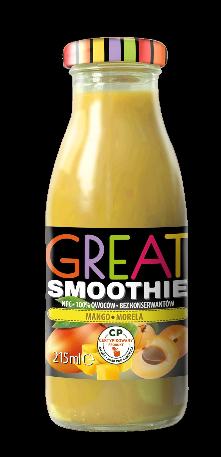 GREAT smoothie mango morela